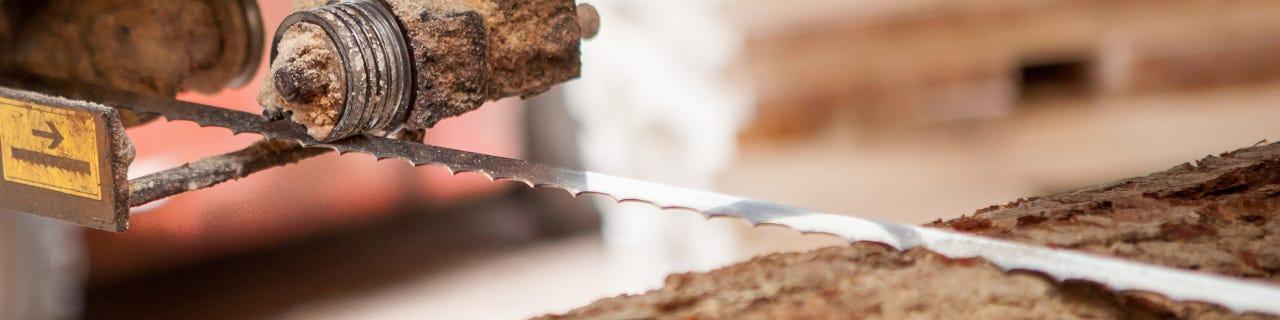 Tandskänkningsverktyg för bandsågblad