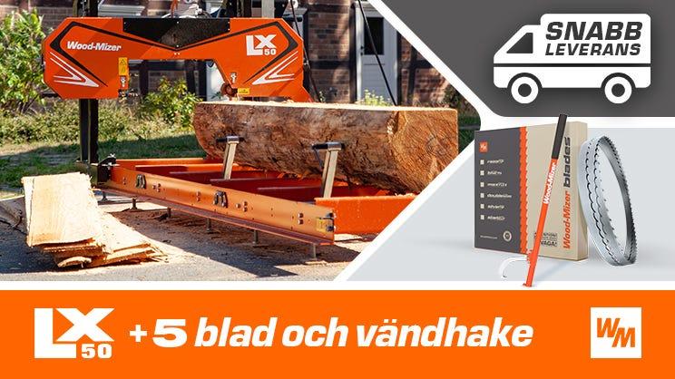 LX50 bandsågverk