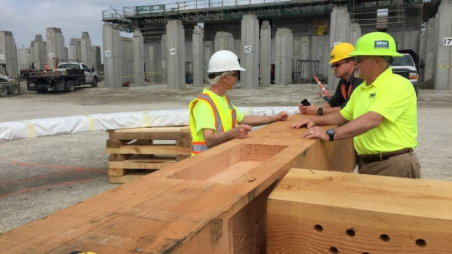 Ark Encounter Beams