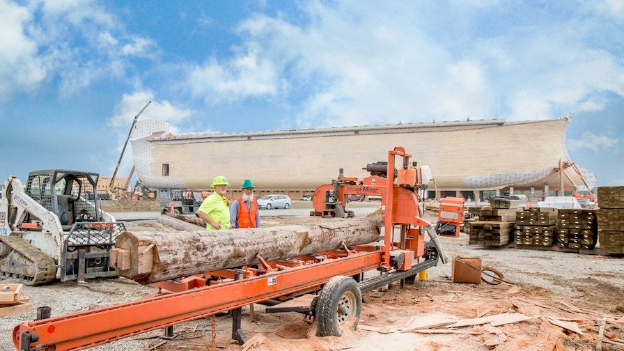 Ark Encounter Wood-Mizer Sawmill
